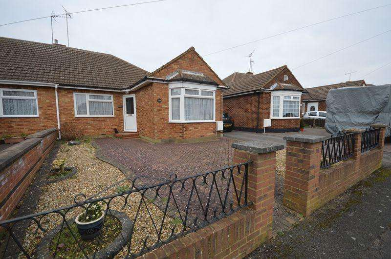 4 Bedrooms Semi Detached Bungalow for sale in Rossfold Road, Luton