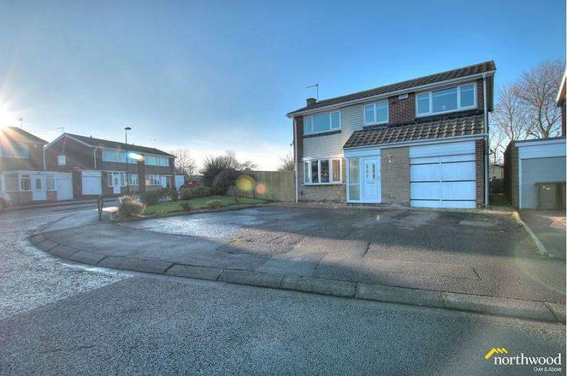 5 Bedrooms Detached House for sale in Gracefield Close, Newcastle upon Tyne, NE5 1SW