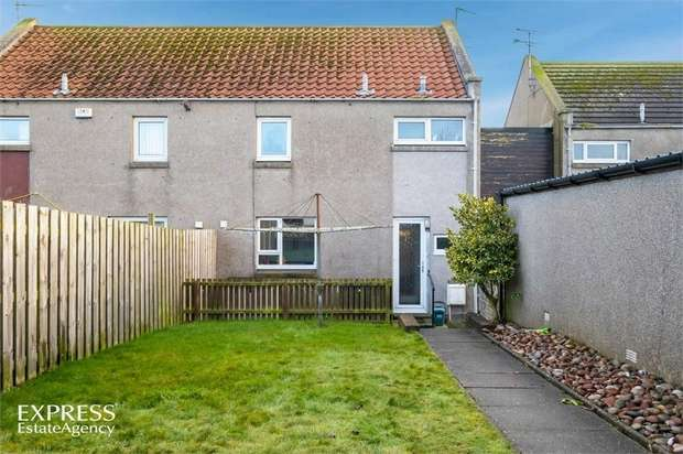 2 Bedrooms Terraced House for sale in Hatton Farm Gardens, Hatton, Peterhead, Aberdeenshire