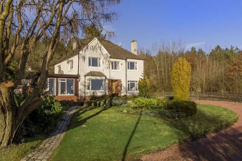5 Bedrooms Detached House for sale in Lyndean House, Linton Bank Drive, West Linton, EH46 7DT