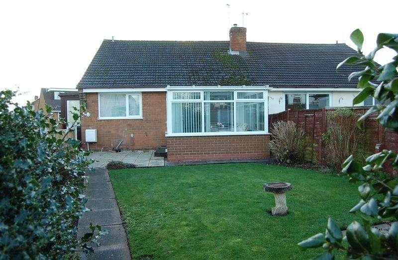 2 Bedrooms Semi Detached Bungalow for sale in Church Road, Albrighton, Wolverhampton