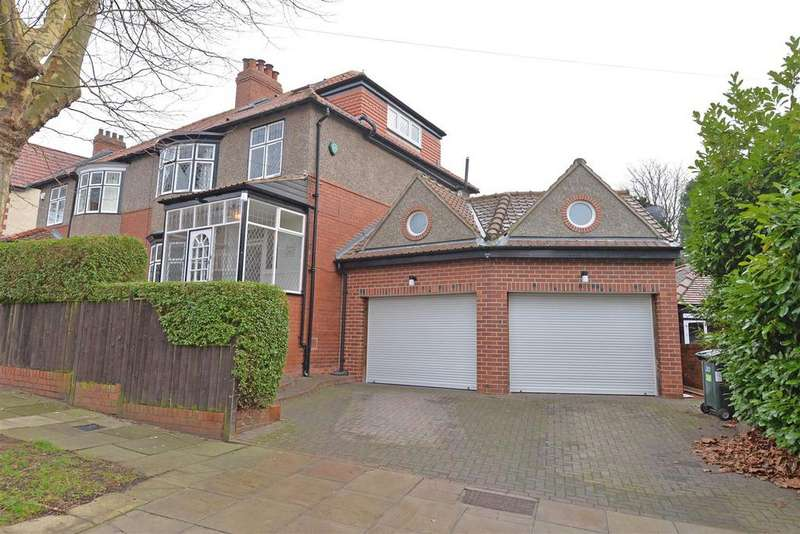 5 Bedrooms Semi Detached House for sale in Lyndhurst Crescent, Low fell