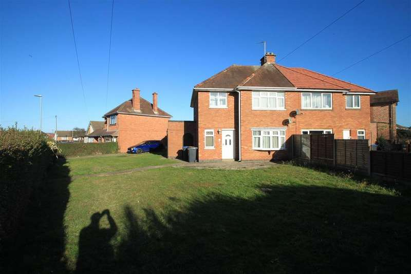 3 Bedrooms Semi Detached House for sale in Middlefield Lane, Hinckley