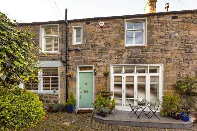 3 Bedrooms End Of Terrace House for sale in 8 Dean Park Mews, Stockbridge, EH4 1ED