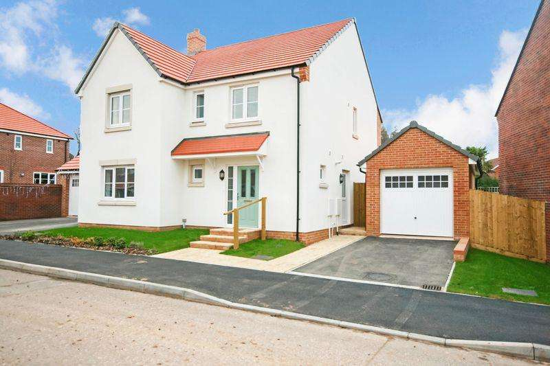 4 Bedrooms Detached House for sale in Stag Valley Road, Bridgwater