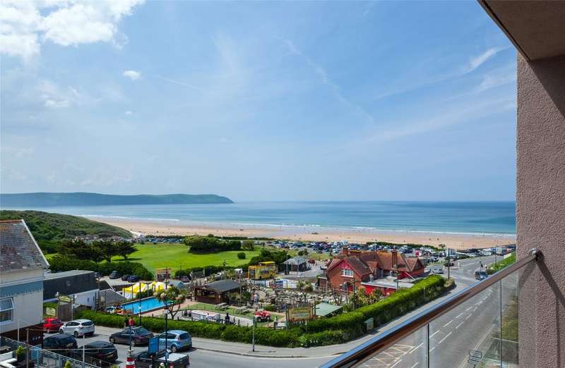 3 Bedrooms Apartment Flat for sale in Beach Road, Woolacombe