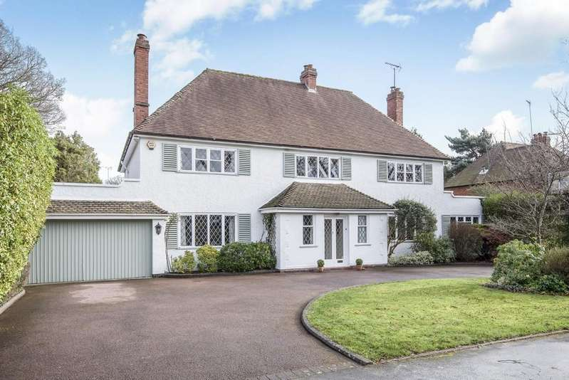 4 Bedrooms Detached House for sale in Blythe Way, Solihull