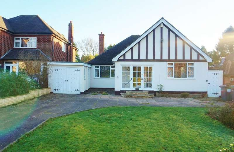 2 Bedrooms Detached Bungalow for sale in Vesey Road, Sutton Coldfield