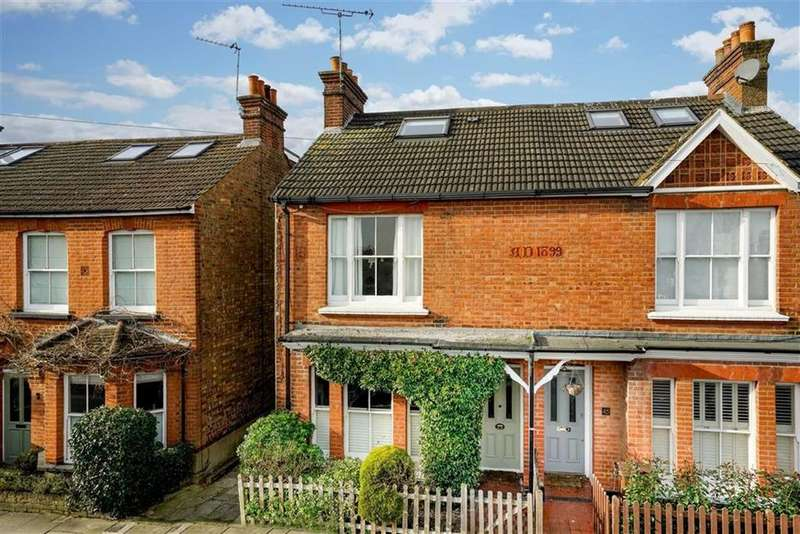 4 Bedrooms Semi Detached House for sale in Harlesden Road, St Albans, Hertfordshire