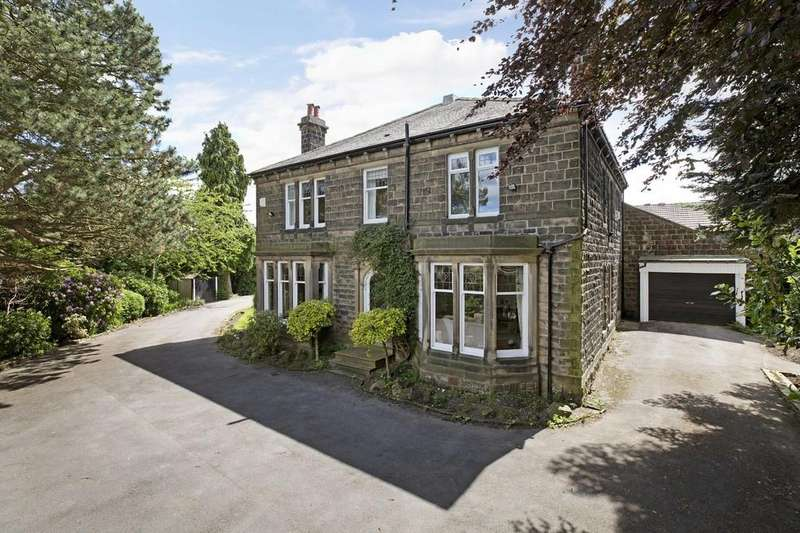 5 Bedrooms Detached House for sale in Cleasby Road, Menston