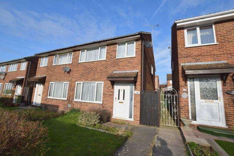 3 Bedrooms Semi Detached House for sale in Wallingford, Bradville, Milton Keynes