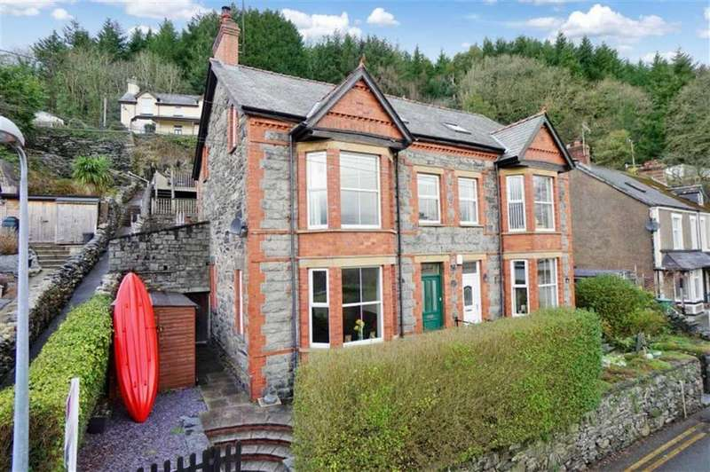 4 Bedrooms Semi Detached House for sale in Trefriw, Conwy