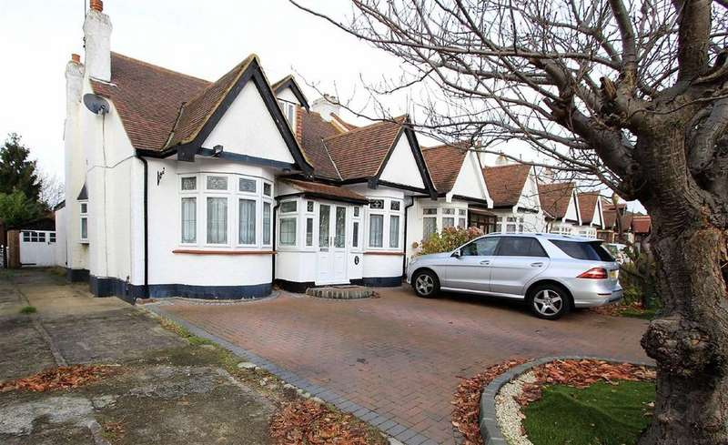 5 Bedrooms Semi Detached Bungalow for sale in Levett Gardens, Seven Kings, Essex, IG3