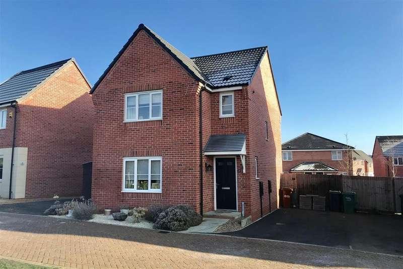 3 Bedrooms Detached House for sale in Brockington Road, Melton Mowbray