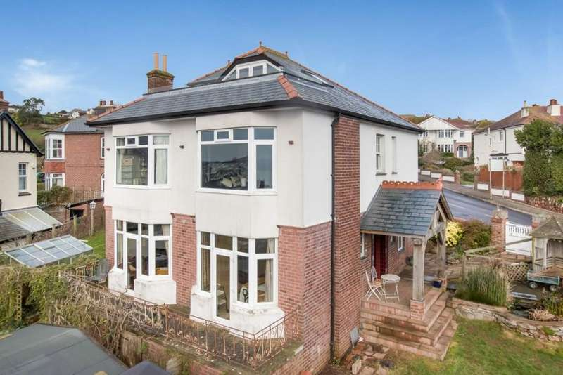 4 Bedrooms Detached House for sale in Upper Headland Park Road Preston Paignton, Torquay, TQ3