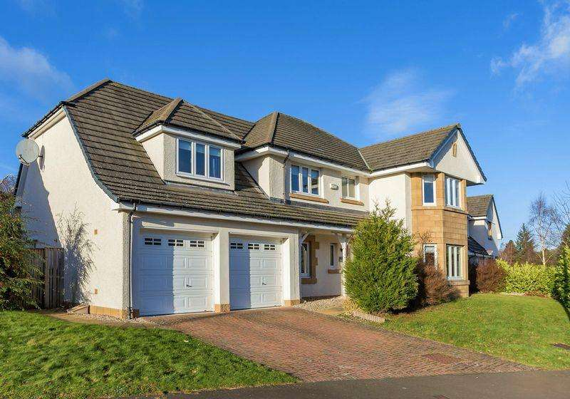 5 Bedrooms Detached House for sale in 71 Jubilee Park, Peebles