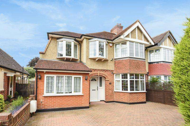 5 Bedrooms Semi Detached House for sale in STONELEIGH