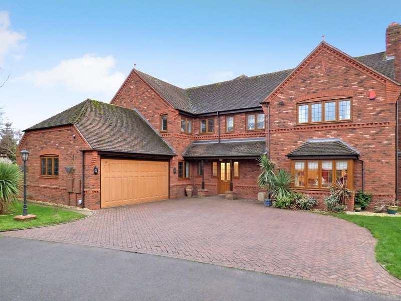 5 Bedrooms Detached House for sale in Thorpe Drive, Fradley, Lichfield