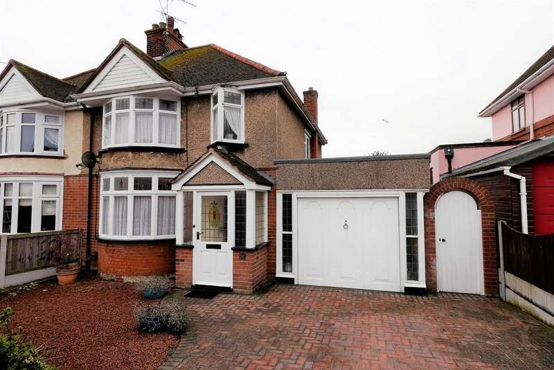 3 Bedrooms Semi Detached House for sale in Highfield Avenue, Harwich