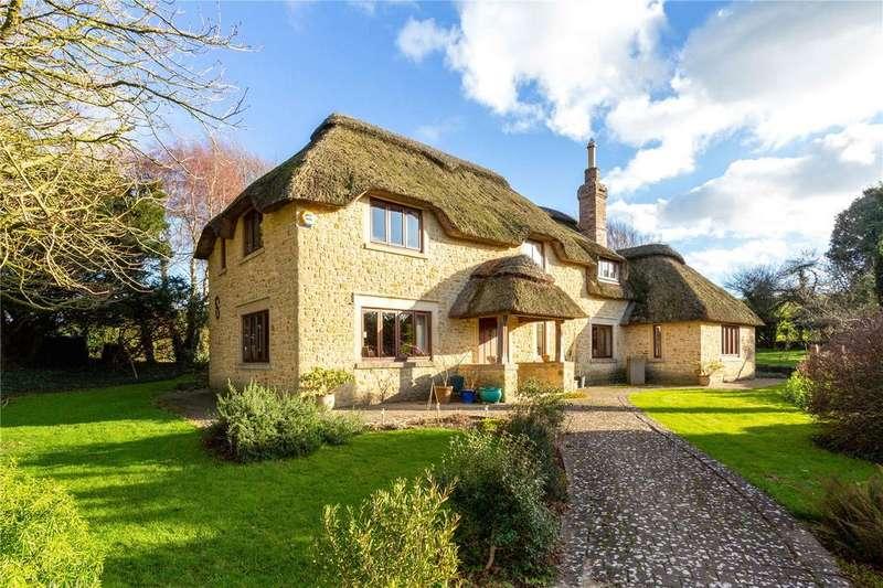 4 Bedrooms Detached House for sale in Chydyok Road, Chaldon Herring, Dorchester, Dorset, DT2