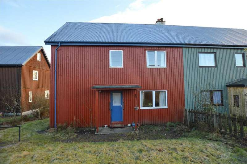 3 Bedrooms Semi Detached House for sale in 7 Dalavich, Taynuilt, Argyll and Bute, PA35