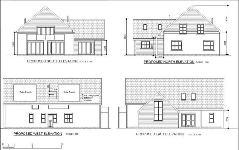 4 Bedrooms Detached House for sale in Gradwell Lane, Four Marks, Alton, Hampshire