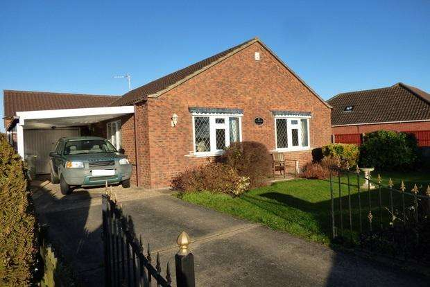 2 Bedrooms Detached Bungalow for sale in Marsh Lane, Burgh Le Marsh, Skegness, PE24
