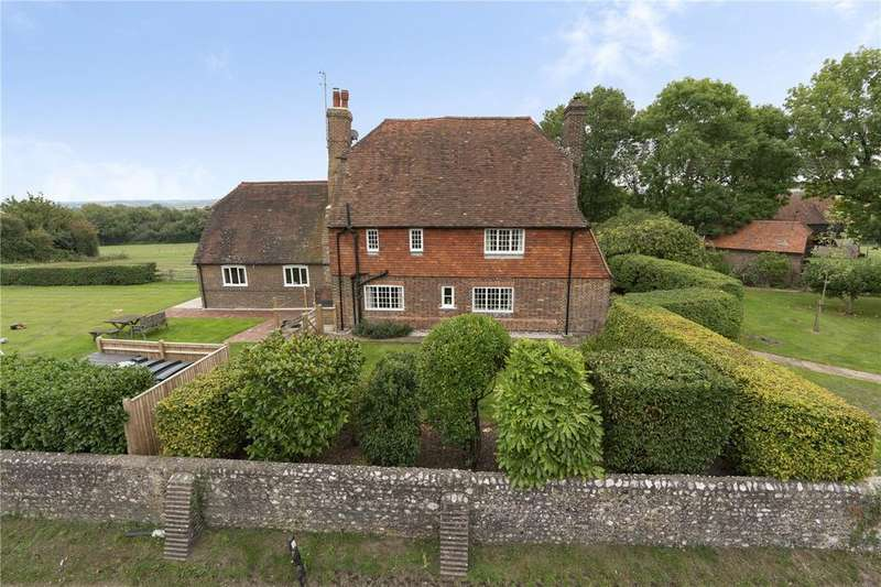 5 Bedrooms Detached House for sale in The Village, Alciston, East Sussex, BN26