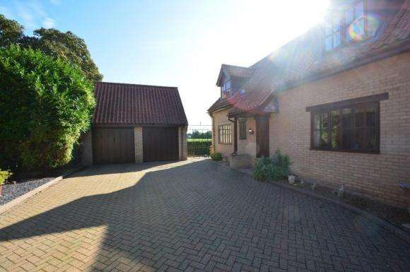 3 Bedrooms Detached House for sale in Whittlesey Road, Thorney, Peterborough