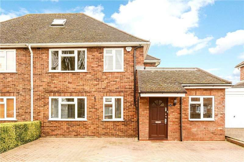 4 Bedrooms Semi Detached House for sale in Henry Road, Aylesbury, Buckinghamshire