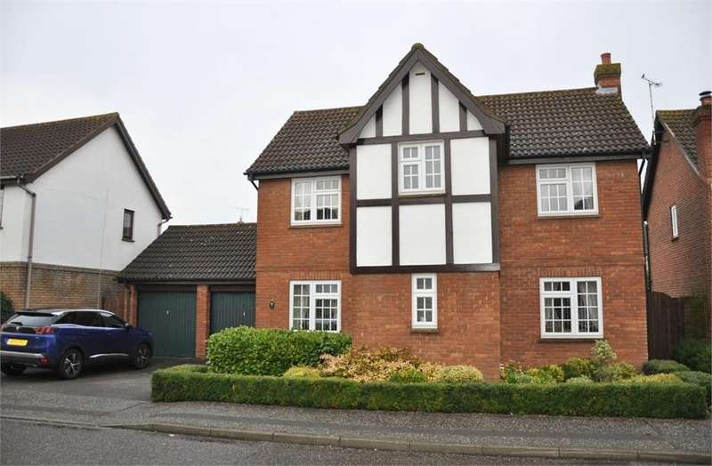4 Bedrooms Detached House for sale in Pollards Green, Chelmer Village, Chelmsford, Essex