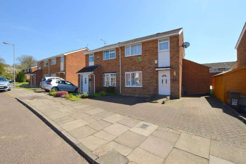 3 Bedrooms Semi Detached House for sale in Ventnor Gardens, Luton, LU3 3SW