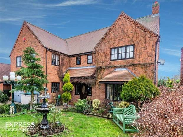 4 Bedrooms Detached House for sale in Old Barn Court, Kings Clipstone, Mansfield, Nottinghamshire