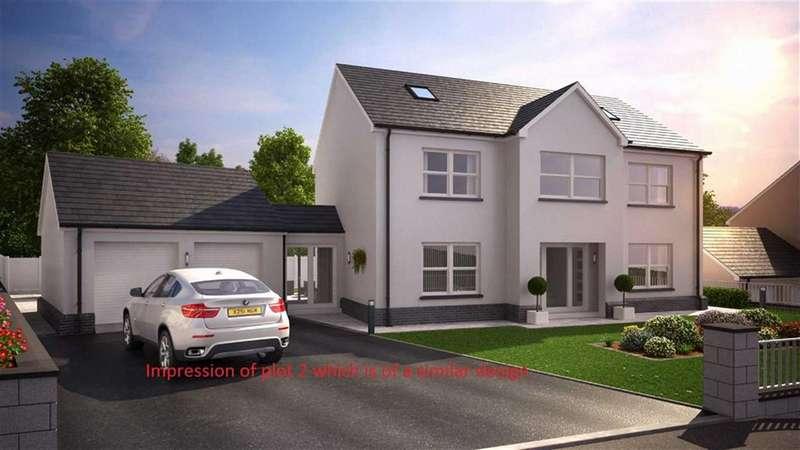 4 Bedrooms Detached House for sale in Parc Clomendy, Llansteffan, Carmarthen