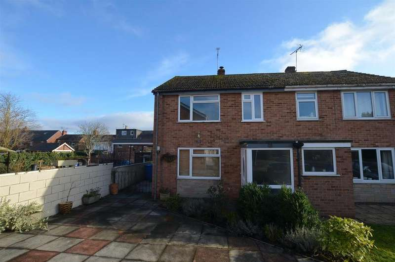 3 Bedrooms Semi Detached House for sale in Tivoli Gardens, Derby
