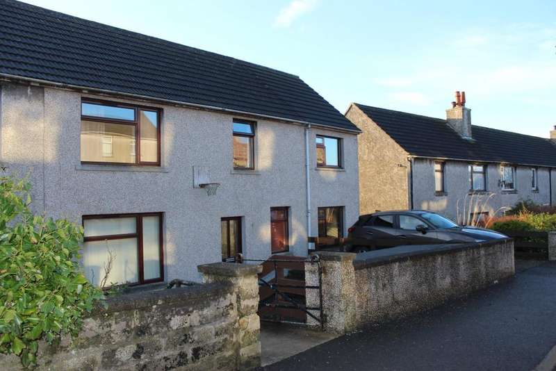 3 Bedrooms Semi Detached House for sale in 29 Quoybanks Crescent, Kirkwall, Orkney KW15