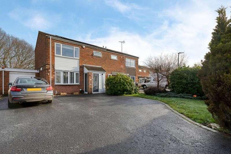 3 Bedrooms Semi Detached House for sale in Gorleston Close, STEVENAGE, Hertfordshire