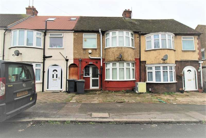 3 Bedrooms Terraced House for sale in Chester Avenue, Luton