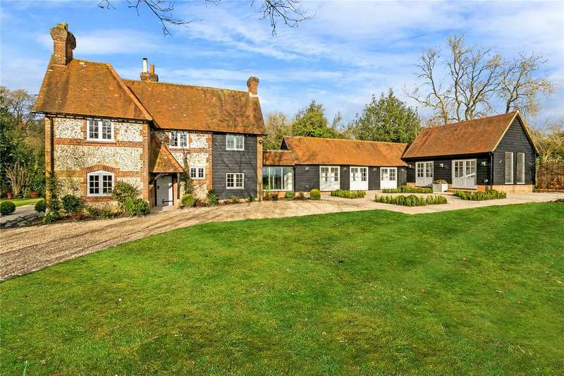 5 Bedrooms Detached House for sale in Great Hampden, Great Missenden, Buckinghamshire, HP16