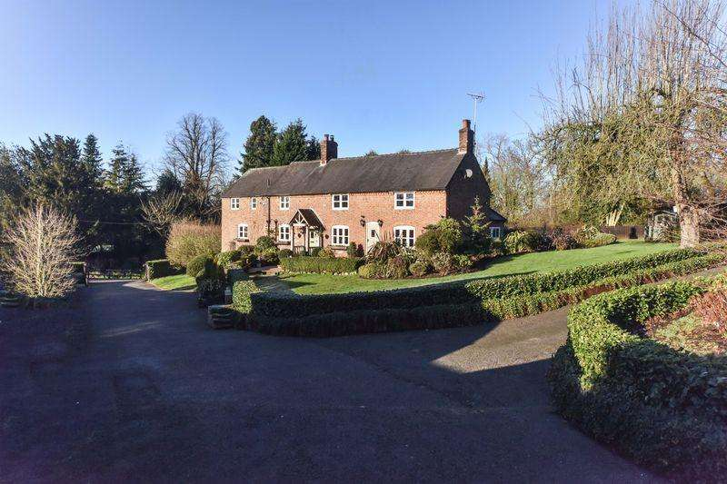 4 Bedrooms Farm House Character Property for sale in Bag Lane Farm, Roston, Ashbourne