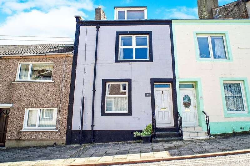 3 Bedrooms Property for sale in High Street, Maryport, CA15
