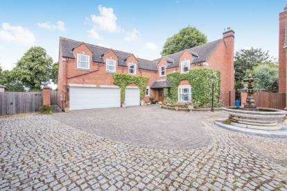5 Bedrooms Detached House for sale in Brandon Court, Chapel Street, Blaby, Leicester