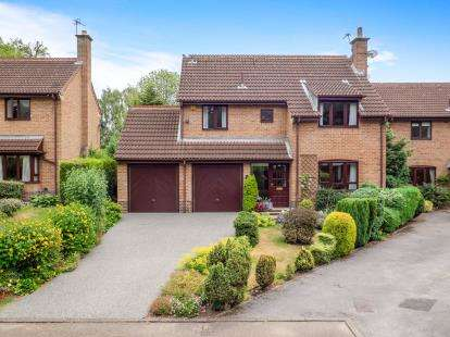 4 Bedrooms Detached House for sale in Park House Gates, Lucknow Drive, Mapperley Park, Nottingham