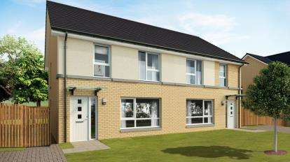 3 Bedrooms Semi Detached House for sale in Barons Vale Phase 3, MacDuff Street Off London Road