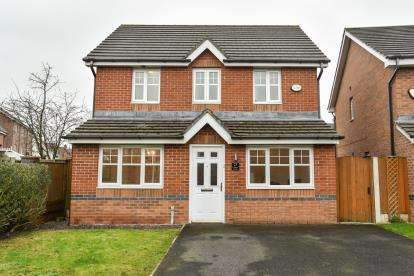 3 Bedrooms Detached House for sale in Larkspur Grove, Warrington, Cheshire