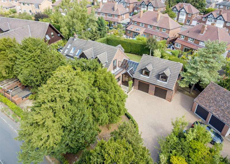 4 Bedrooms Detached House for sale in Hallams Lane, Chilwell, Nottingham