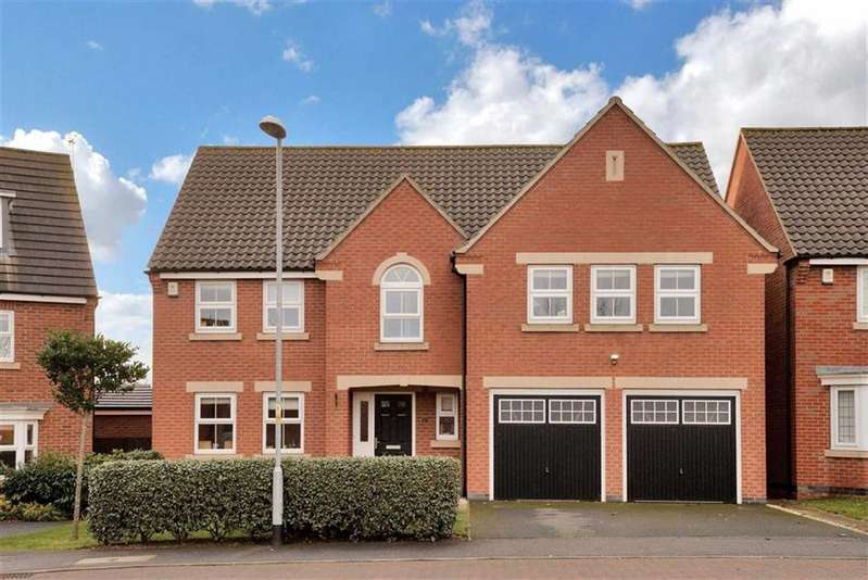5 Bedrooms Detached House for sale in Marriner Crescent, Uphill, Lincoln, Lincolnshire