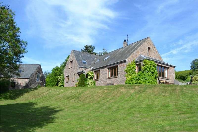 4 Bedrooms Detached House for sale in Doddington, Wooler, Northumberland, NE71