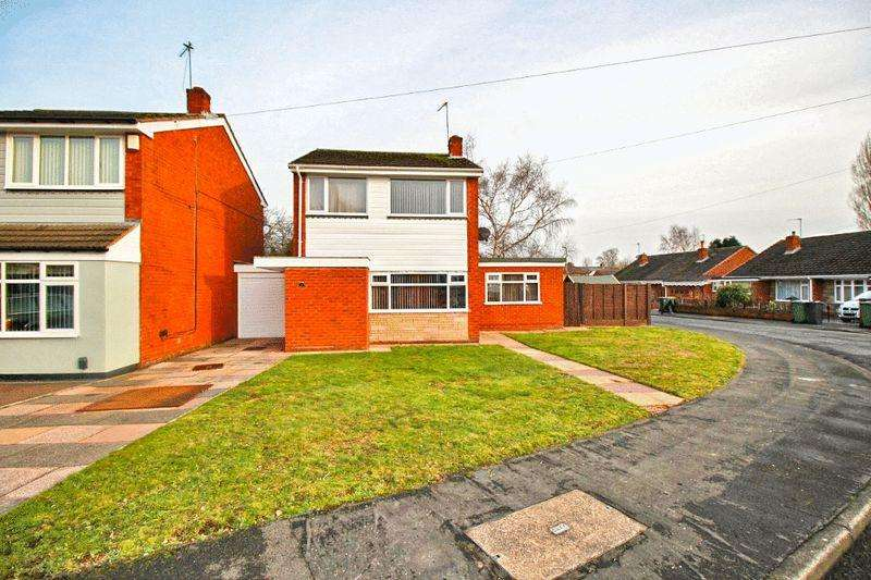 3 Bedrooms Detached House for sale in Stonehouse Avenue, Willenhall