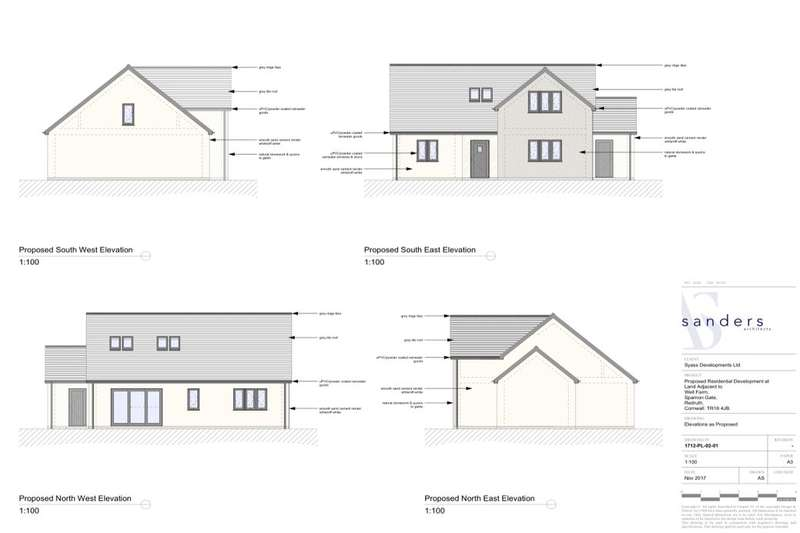 3 Bedrooms Detached Bungalow for sale in Sparnon Gate, Redruth, TR16